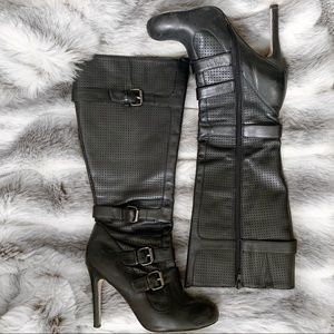 Shoes - Knee High Moto Boots